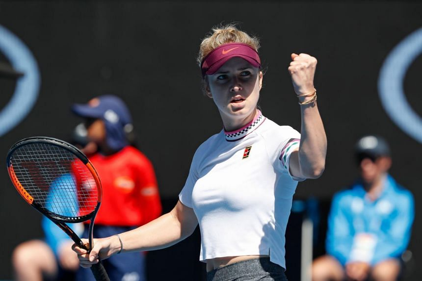 Elina Svitolina was a quarter-finalist at Melbourne Park in 2018 and has made the last eight at Roland Garros twice but is yet to progress further in a Grand Slam.