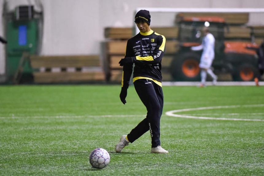 Ikhsan Fandi signed a two-year deal with Norway second-tier club Raufoss IL to become first Lion in 30 years to join a European team, and the third after his father Fandi Ahmad and V. Sundram Moorthy.