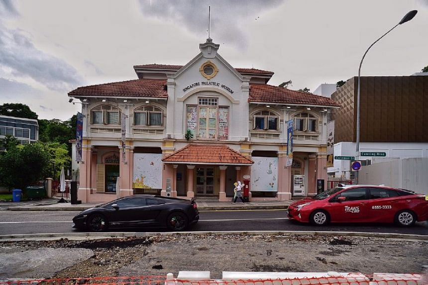 The Singapore Philatelic Museum (above) and the Peranakan Museum will be closed for a major redevelopment slated to begin later this year, the National Heritage Board said on Jan 21, 2019.