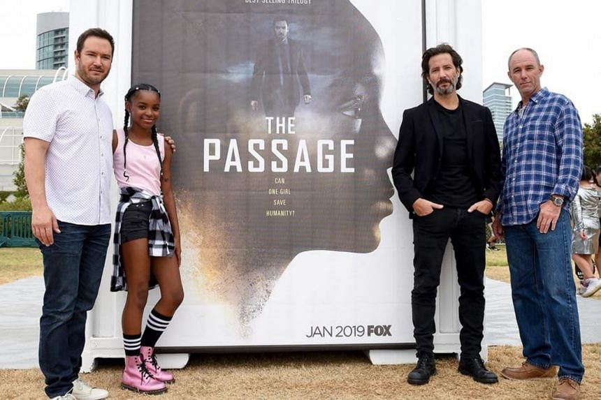 The Passage is about the outbreak from a botched government experiment, which turns some death-row inmates into highly infectious vampires.