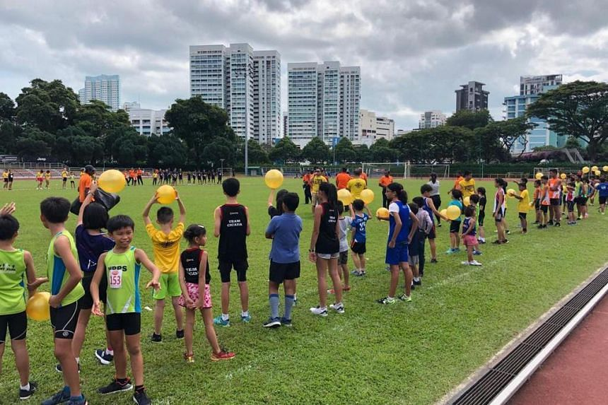 The record-breaking feat was part of the Bicentennial Kids Olympiad organised by Singapore Masters Athletics and Club Zoom.