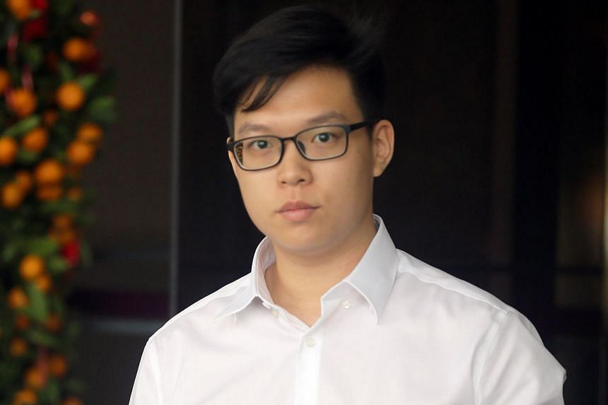 Zaley Cheng Xi Xiong allegedly failed to report for enlistment from June 10, 2014 to Aug 30, 2017.