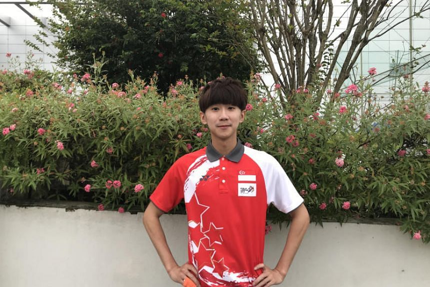 Ng Ming Wei's 47,500 followers on Instagram are a result of him posting videos of himself using taekwondo moves to play other sports, such as bowling and table tennis.