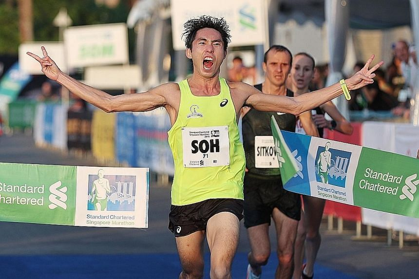 Soh Rui Yong was the local men's champion at last month's Standard Chartered Singapore Marathon. The 27-year-old is aiming to better the national marathon record in Tokyo in March.