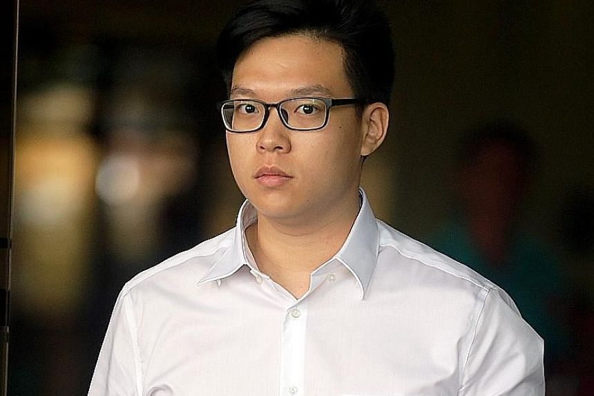 Zaley Cheng Xi Xiong allegedly failed to report for full-time national service from 2014 to 2017.