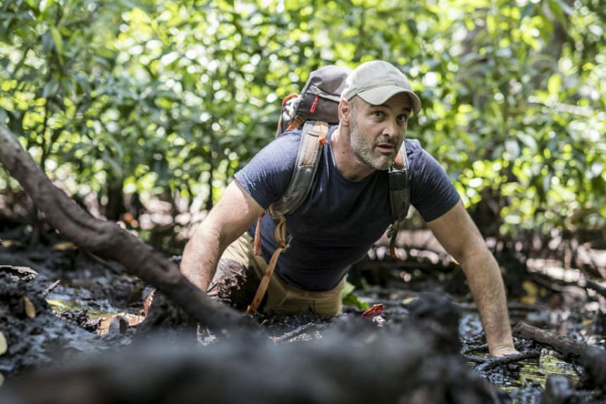 British explorer Ed Stafford's new show First Man Out will see him pitched against other adventurers and survivalists - to see who can get out of some of the Earth's most hostile environments before the other.