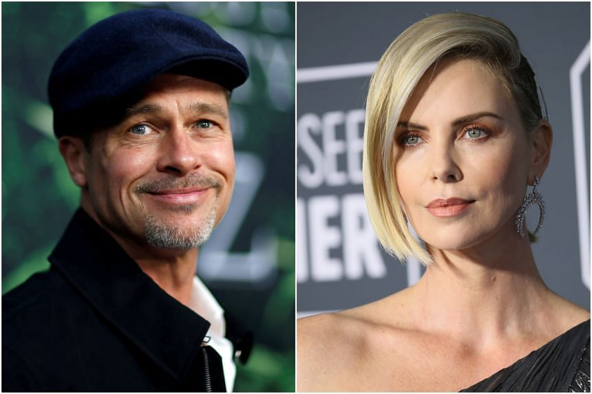 Brad Pitt and Charlize Theron worked together six months ago on an advertising shoot for Breitling watches.