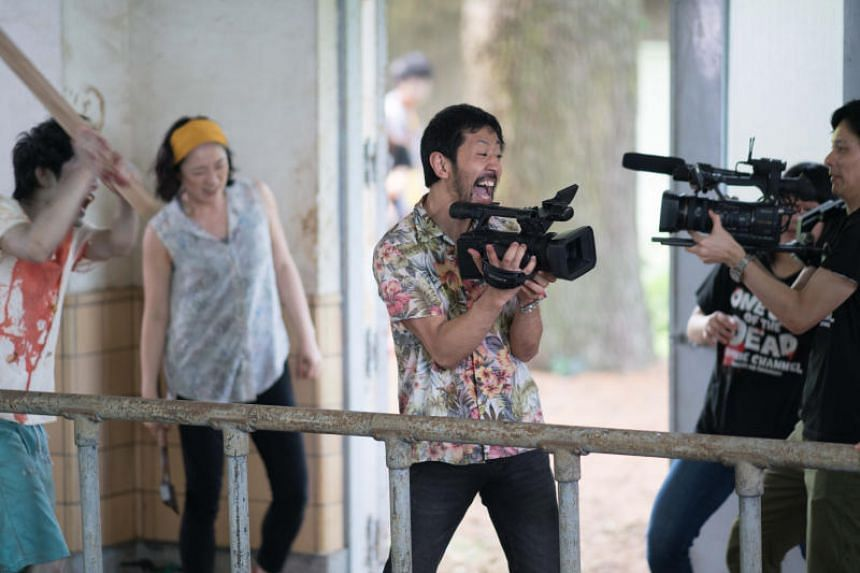 Movie still from the film One Cut Of The Dead.