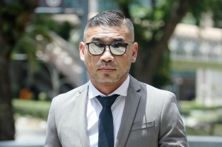 Stuart Koe Chi Yeow was sentenced to a year and a month's jail on Jan 22, after pleading guilty to one count each of drug consumption as well as being in possession of drug paraphernalia and nimetazepam or Erimin-5.