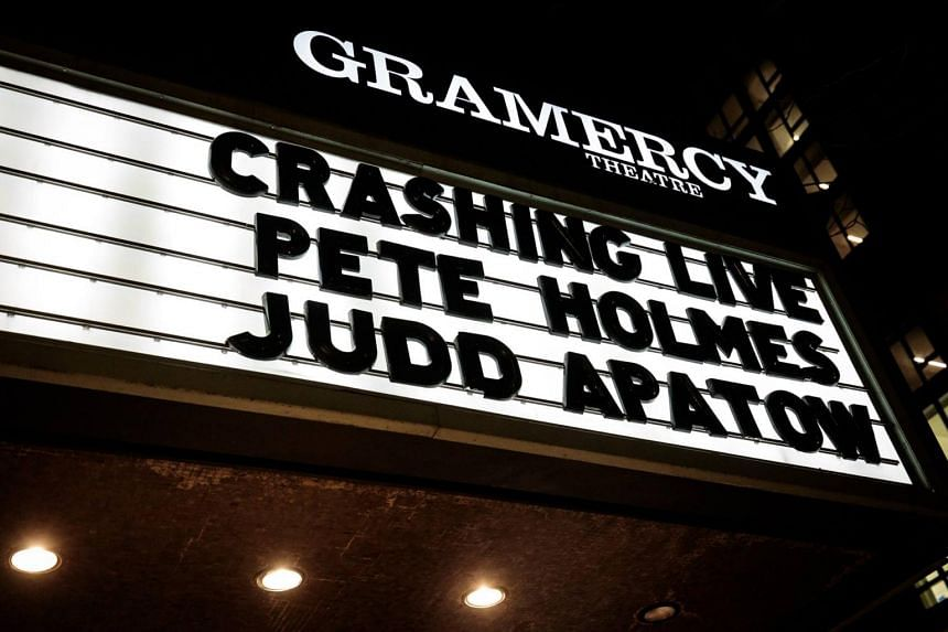 Comedy-drama series Crashing by Judd Apatow and Pete Holmes gives viewers a behind-the-scenes look at the world of stand-up comedy.