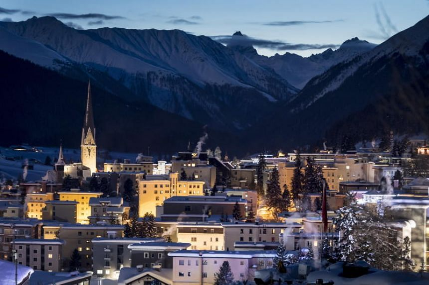 Air Charter Service forecast nearly 1,500 private jet flights over the week of the World Economic Forum to airports near Davos in the Swiss Alps.