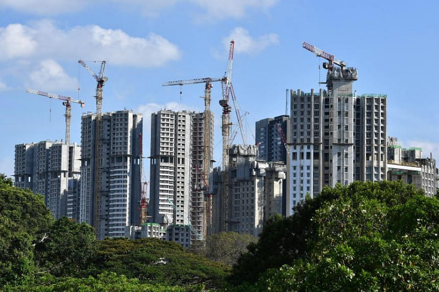 National Development Minister Lawrence Wong said the construction industry is rapidly changing, and it is changing all over the world, including in Singapore.