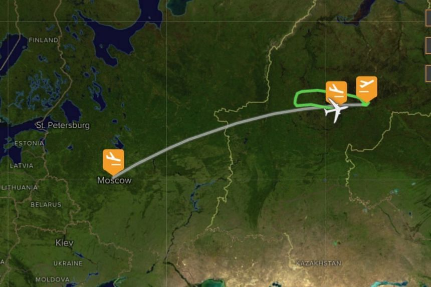 Aeroflot flight SU 1515 took off from the city of Surgut to Moscow, but the pilot then made an unplanned landing in the city of Khanty-Mansiysk.