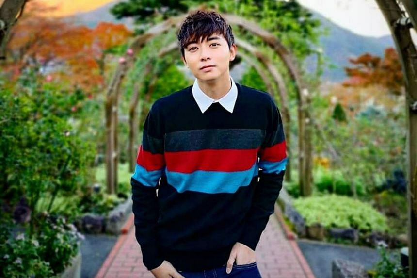 Aloysius Pang had been due to start shooting Channel 8 romantic drama My One In A Million next month after Chinese New Year.