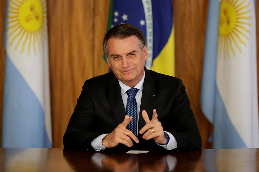 Brazil's new far-right President Jair Bolsonaro will hold the first keynote speech of the four-day World Economic Forum annual meeting in the Swiss resort of Davos.