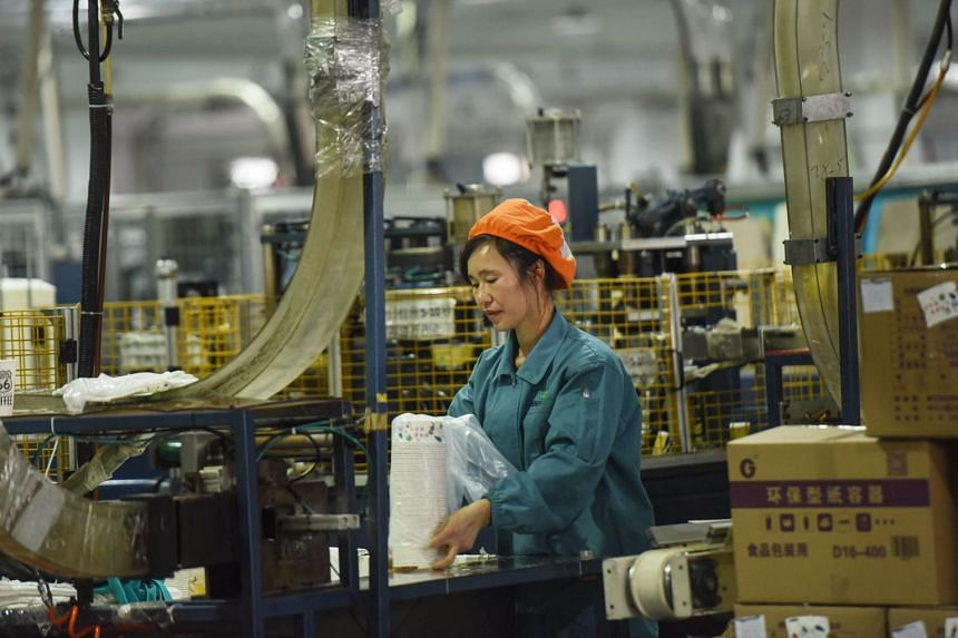 Hit by weak domestic demand and a protracted trade dispute with the US, China's GDP for the last three months of last year eased to 6.4 per cent year on year from 6.5 per cent in the third quarter, in line with analysts' expectations.
