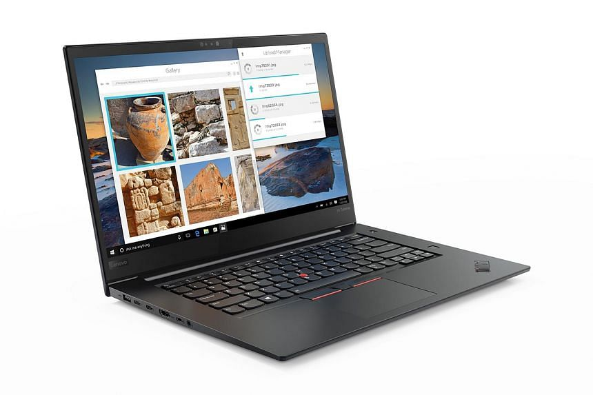 The ThinkPad X1 Extreme is the first in the series to include a dedicated Nvidia graphics card.