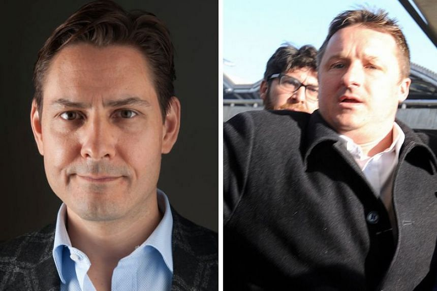 """Former diplomat Michael Kovrig (left) and businessman Michael Spavor were arrested in China in December 2018 for activities that """"endanger China's security""""."""