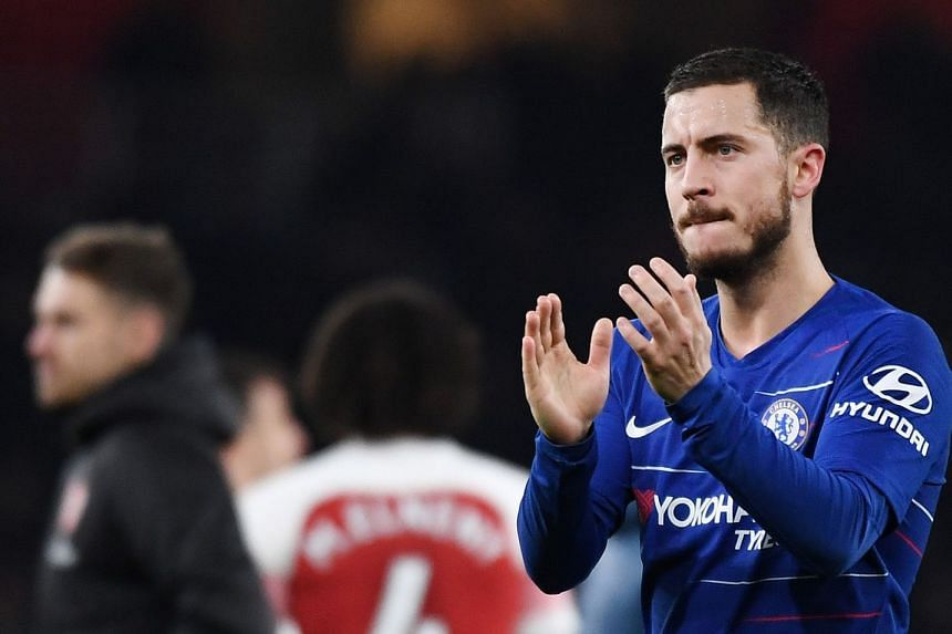 Hazard's future is a source of fevered speculation, with the player refusing to extend his current Chelsea deal, which expires in 2020.