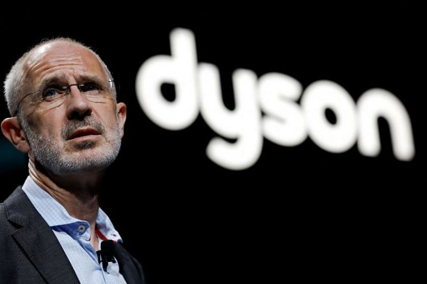Dyson CEO Jim Rowan speaks during a product launch event in Beijing, China.