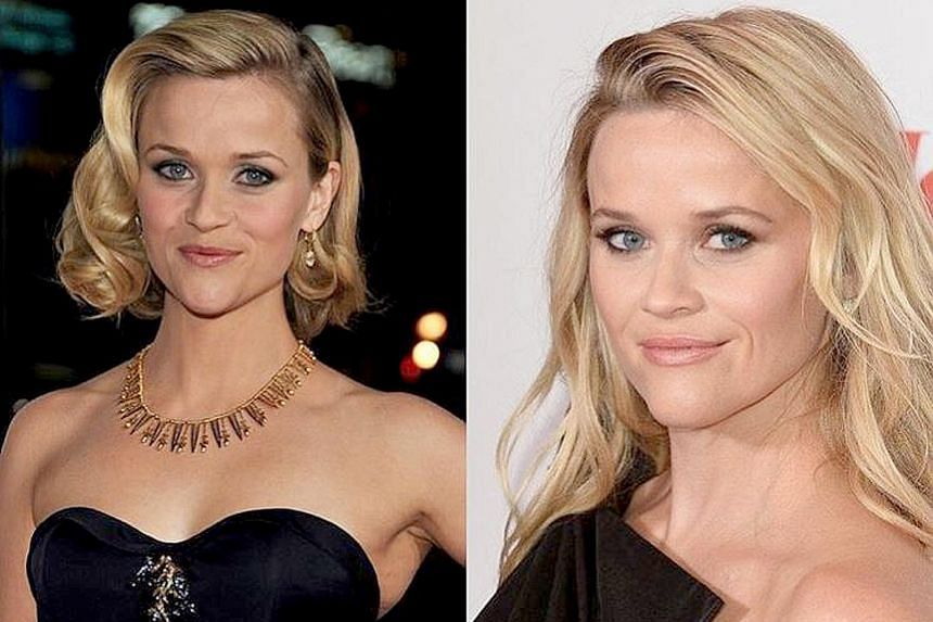 Actress Reese Witherspoon's post shows negligible changes over 10 years.
