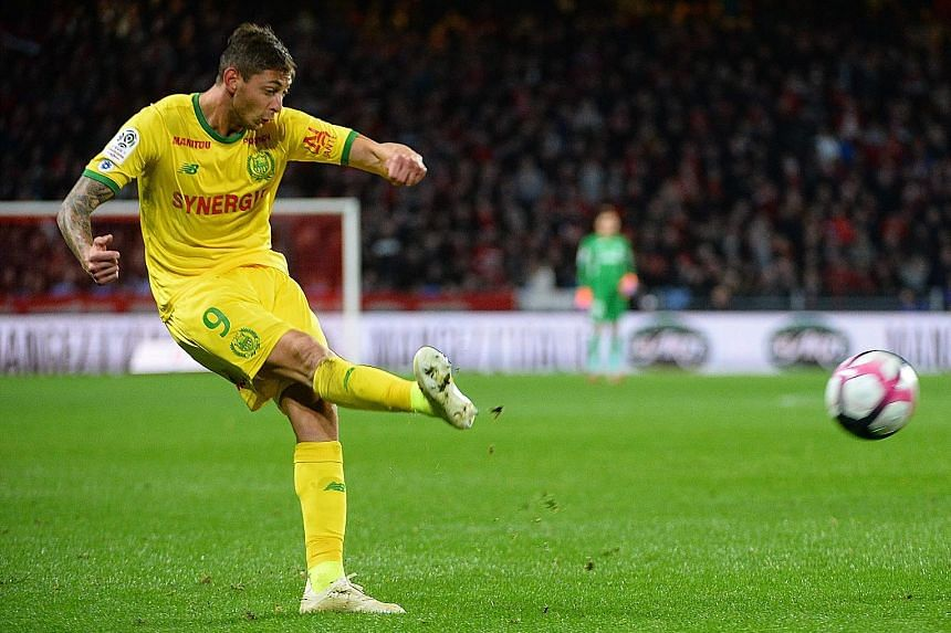Emiliano Sala was the third-highest goalscorer in the French Ligue 1 with Nantes prior to his move to Cardiff City. Fans of his new club have placed daffodils outside the Premier League side's stadium as a tribute.