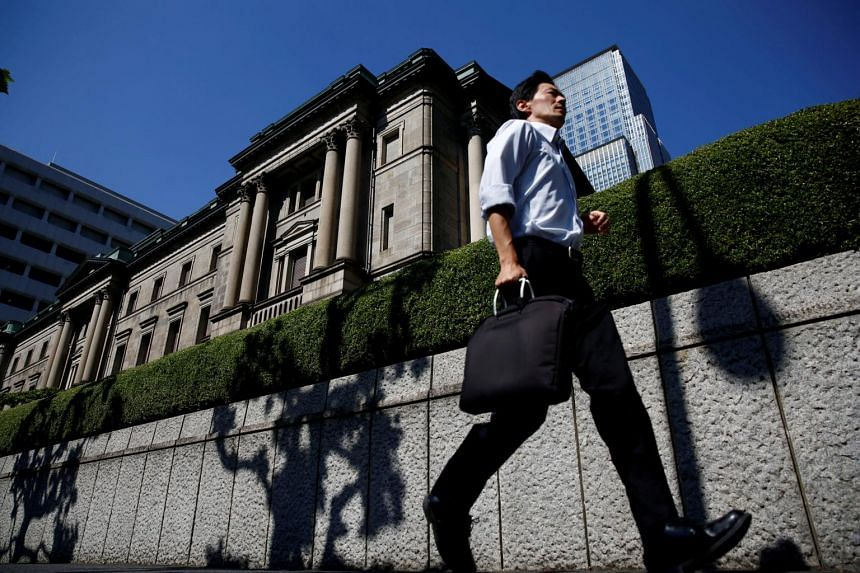 At its policy-setting meeting, the Bank of Japan kept its short-term interest rate target at minus 0.1 per cent and a pledge to guide 10-year government bond yields around zero per cent.