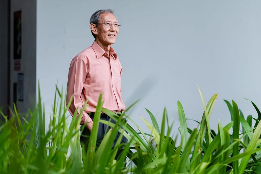 Dr Tan finds joy in learning new skills during his retirement. PHOTO: TED CHEN