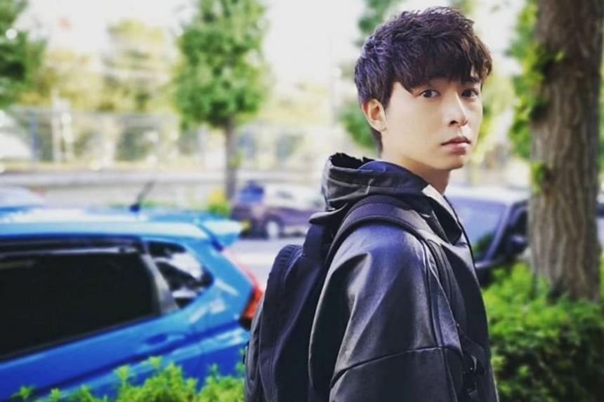 Actor Aloysius Pang was hurt while repairing a Singapore Self-Propelled Howitzer during Exercise Thunder Warrior at the Waiouru training area.