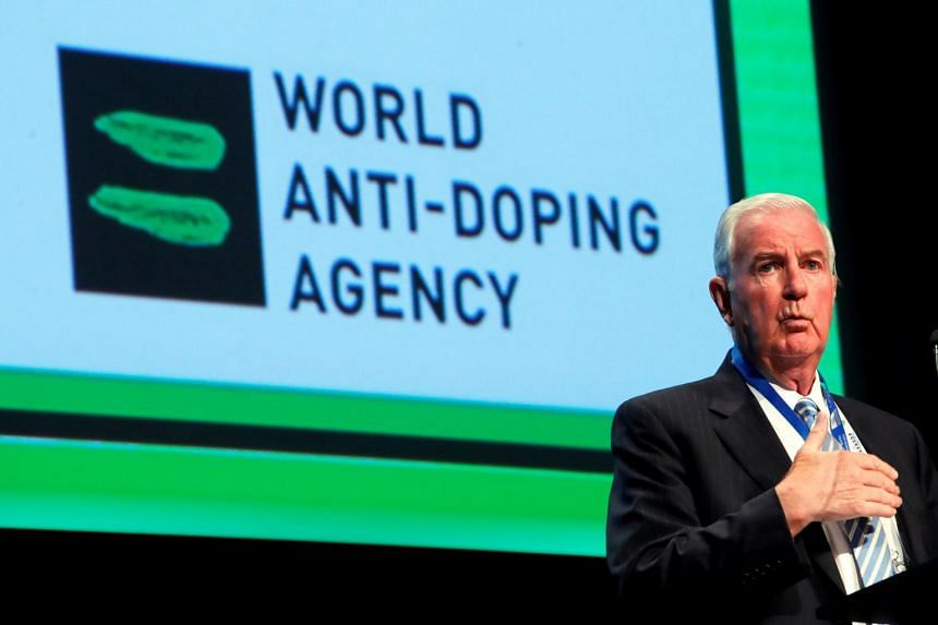 President of the World Anti Doping Agency (Wada) Craig Reedie at the Wada Symposium in Ecublens, Switzerland, on March 21, 2018.