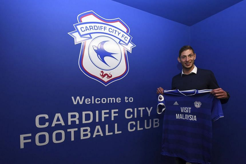 English Premier League club Cardiff City signed Argentina striker Emiliano Sala in a record deal on Saturday.