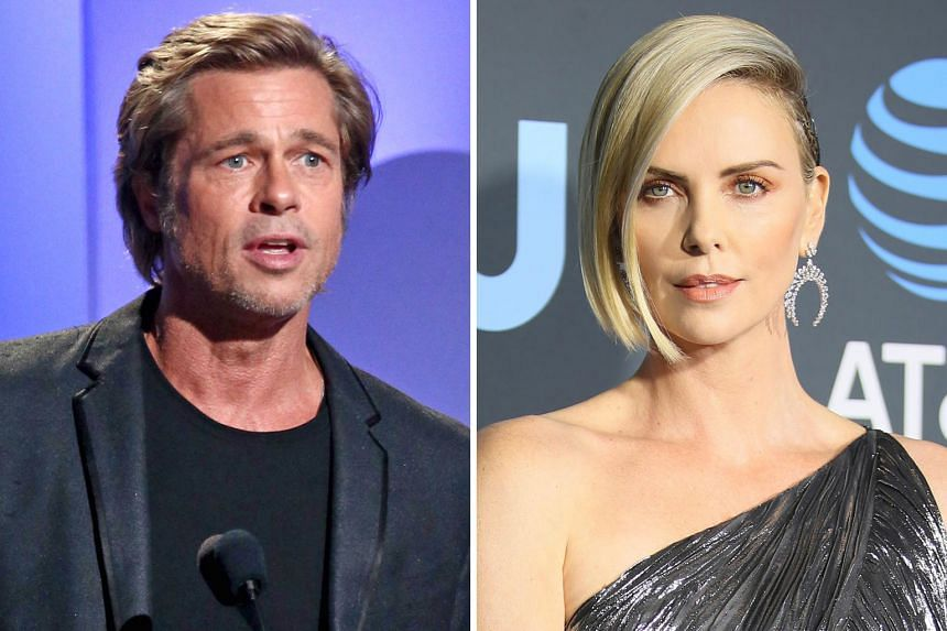 Rumour has it that actors Brad Pitt and Charlize Theron (both above) had paired up over Christmas.