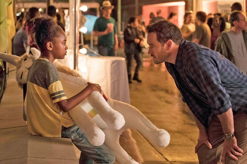 Saniyya Sidney (far left) and Mark-Paul Gosselaar star in The Passage, about an outbreak from a botched government experiment.