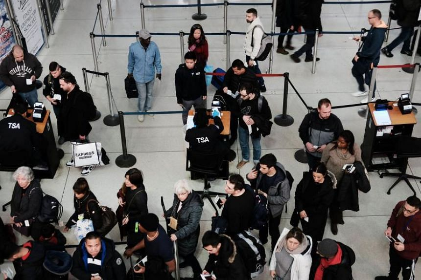 More than 50,000 of the Transportation Security Administration's officers learnt that they would miss another pay cheque this week.