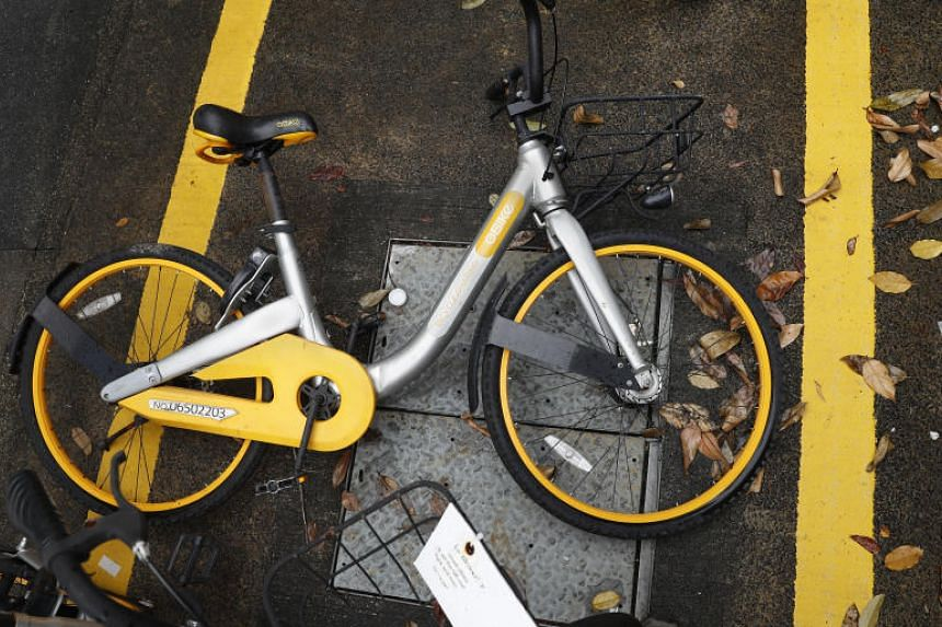 Bicycle operator oBike ended its Singapore operations unexpectedly in June 2018, after about 18 months of operating here, leaving users wondering if they would get a refund of their deposits.