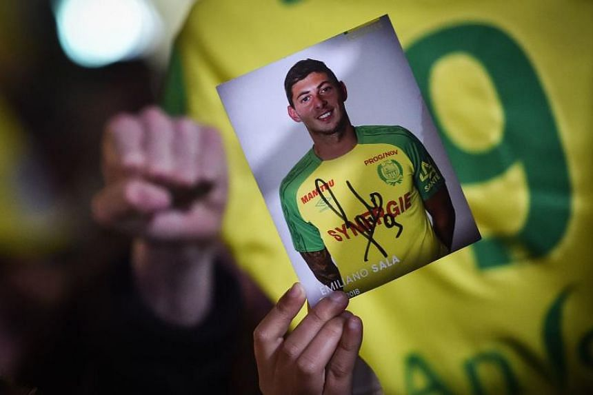 Emiliano Sala was flying to Cardiff for his football club debut when the plane lost radar contact off the English Channel island of Guernsey.