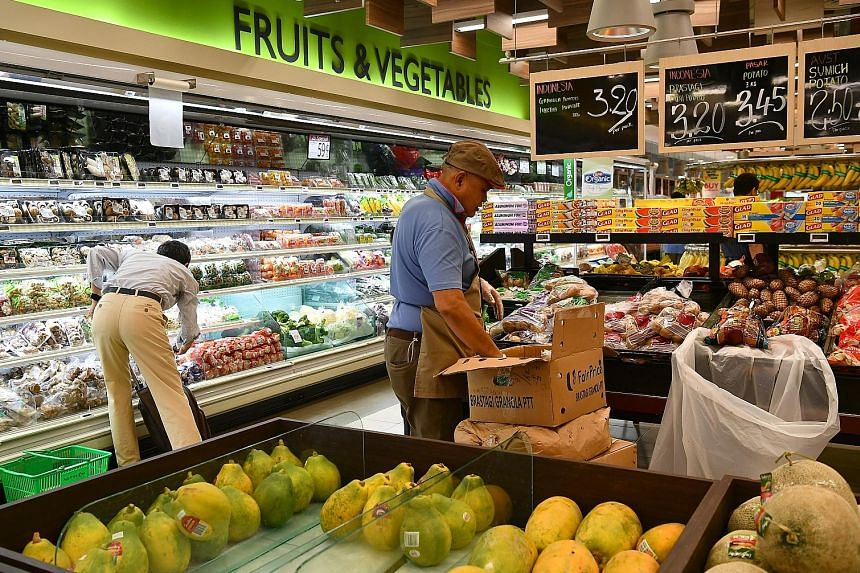 Food inflation remained at 1.4 per cent last month, unchanged from the previous two months. The price rises for non-cooked food items and prepared meals stayed broadly the same. For the whole of last year, overall consumer prices rose 0.4 per cent, l