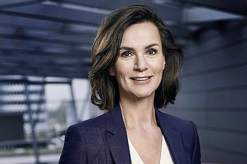 Ms Hildegard Wortmann has been based in Singapore since last January, but her new job at Audi is based in Germany.