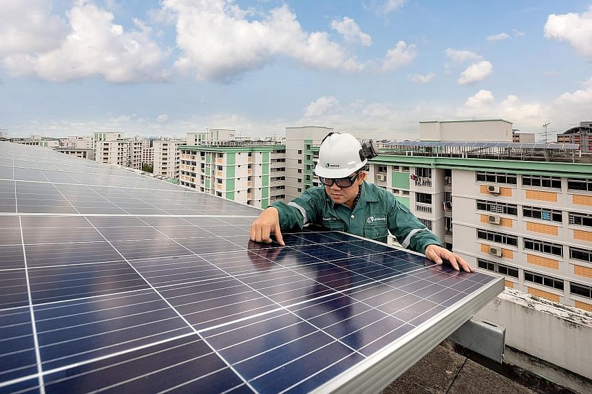 The initiative between Sembcorp Industries and Singapore Polytechnic will help Singapore develop an approach in which solar projects will be seen through from the stages of procurement, design and installation and operation to beyond the end of their