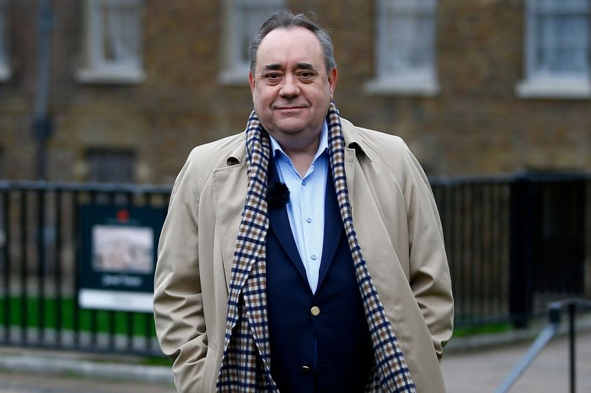 Alex Salmond, 64, led the devolved Scottish government for seven years until 2014.