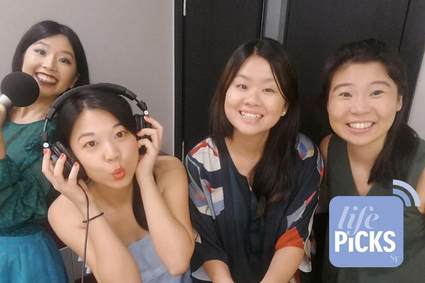 (From left) ST's Life journalists Olivia Ho, Yip Wai Yee, Eunice Quek and Life Picks podcast host Melissa Sim give you the best lifestyle tips this week.