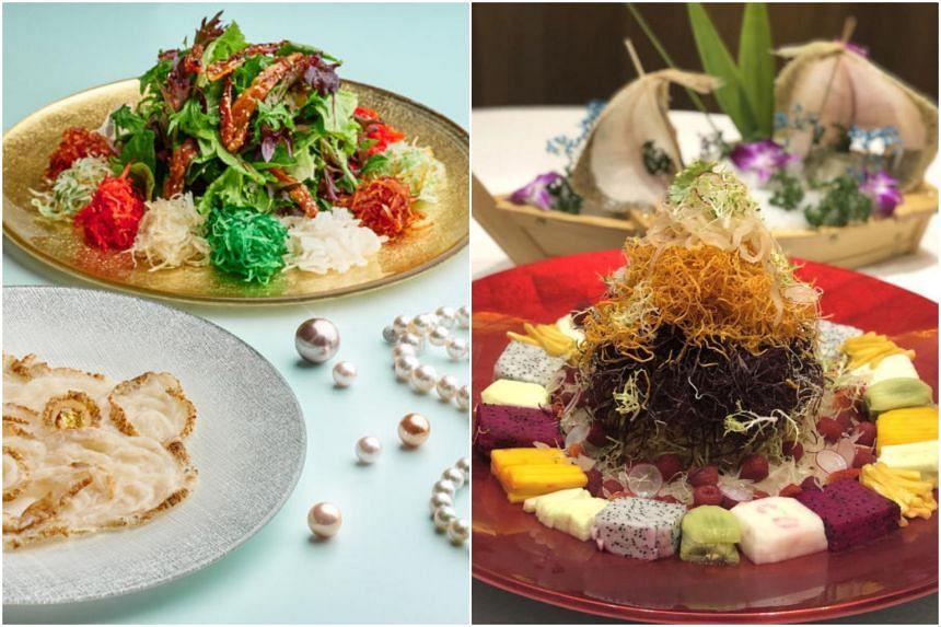 Yusheng from Si Chuan Dou Hua and Long Beach Seafood Restaurants.