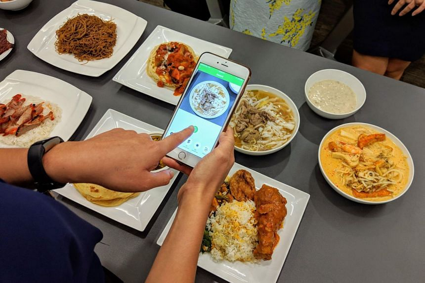 The JurongHealth Food Log app uses AI to match uploaded photos of food to a database of over 200 common local dishes, including nasi padang, laksa and char siew rice.