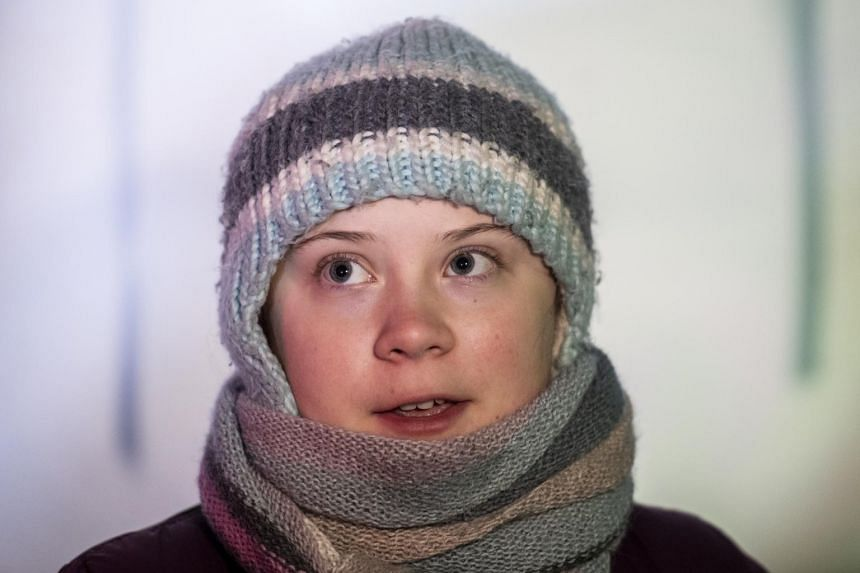 """In Davos, Greta Thunberg is scheduled to speak at several side events and an official WEF discussion entitled """"Preparing for Climate Disruption""""."""