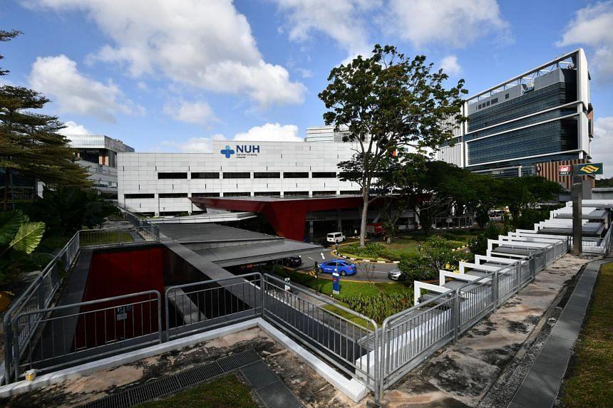 File photo of National University Hospital.