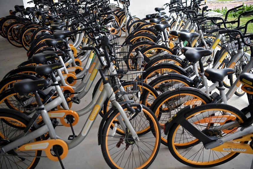 According to oBike's records, it has more than 220,000 deposit holders in Singapore.