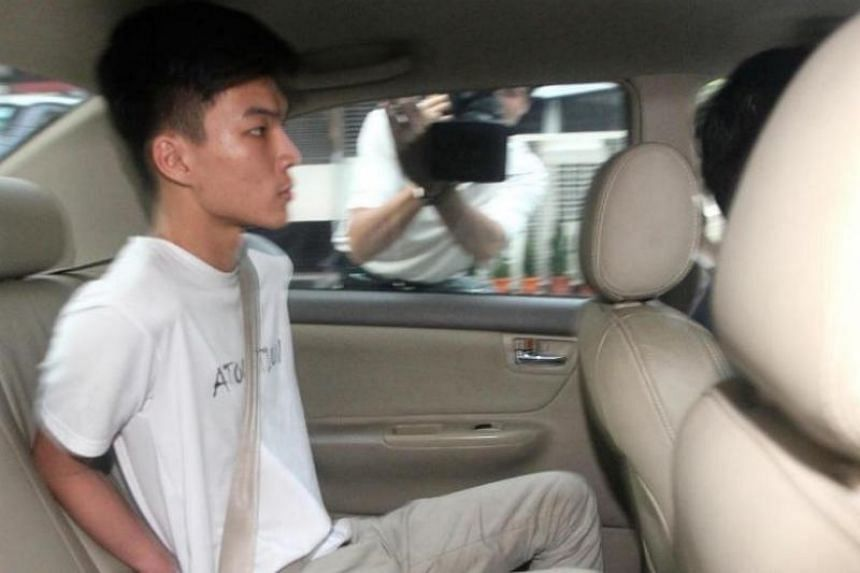 Looi Yu Chong, 20, who received RM1,500 for his role in the scam, was arrested by officers from the Royal Malaysian Police on Jan 16, 2018.
