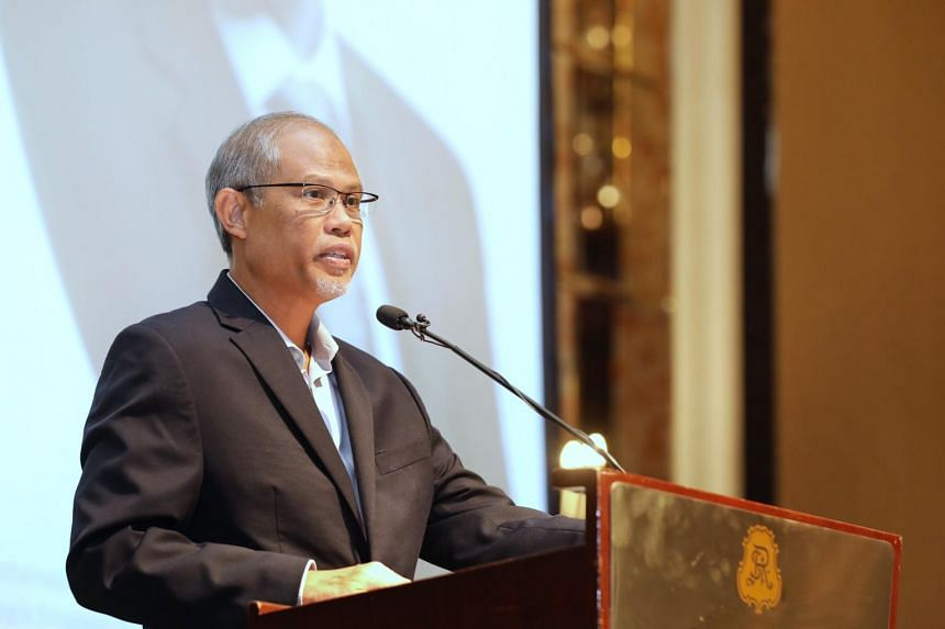 """""""We need to adopt circular economy approaches. By transforming waste into resources, we will generate new economic value from something that would have been thrown away,"""" said Minister for the Environment and Water Resources Masagos Zulkifli."""