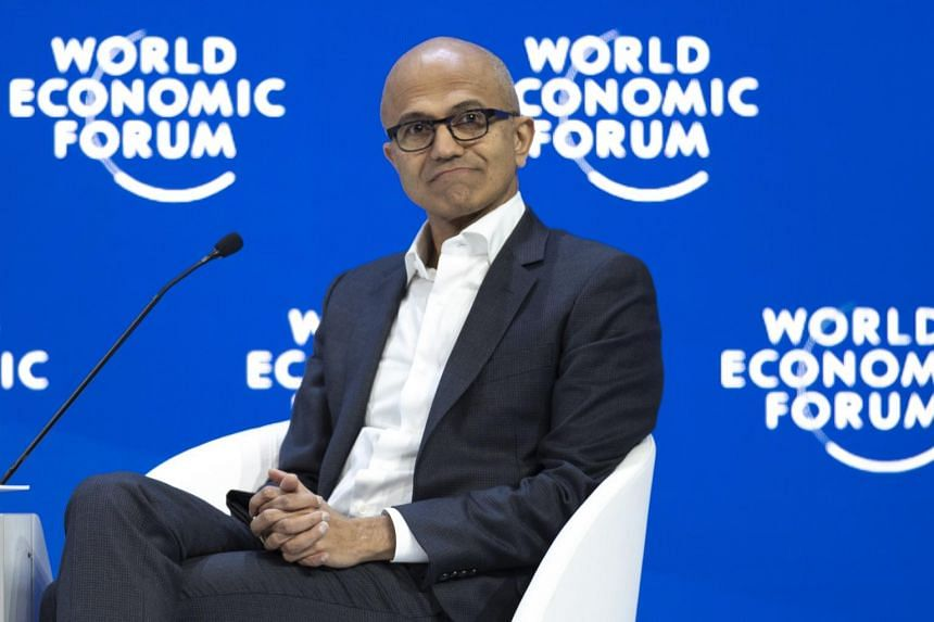 "Every company ""must adhere to the core principle of data as a human right and privacy as a human right"", said Microsoft Corp CEO Satya Nadella."