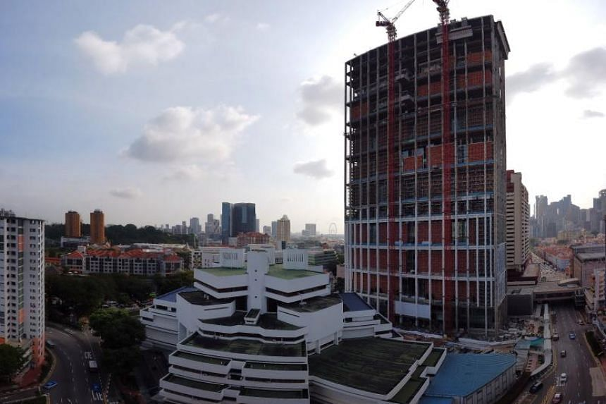 The new State Courts Towers in Chinatown is on schedule to be fully operational by the first quarter of next year.